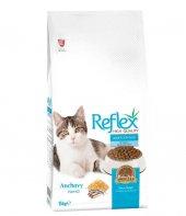 Reflex Adult Cat Food Hamsili Kedi Maması 15 Kg