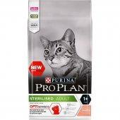 Proplan Sterilised Somonlu Ve Ton Balıklı 3 Kg Kısırlaştırılmış Kedi Maması Skt 09.2021