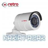 Retro Rt Ab16dot 2.0mp 4 In 1 1080p Platınum Tvı Bullet Kamera