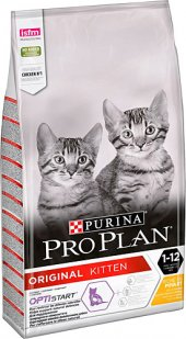 Pro Plan Kitten Yavru Tavuklu Ve Pirinçli 10 Kg Kuru Kedi Maması 07.2021