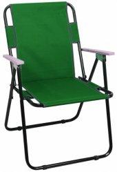 Romee Yeşil Ahşap Kollu Katlanır Sandalye