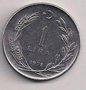 TC. 1 Lira 1978-Ters (mp0401)
