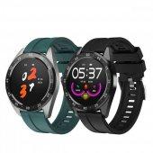 Olix X10 Smart Watch Akıllı Saat Yuvarlak Kadranlı 2 Farklı Renk Seçeneği