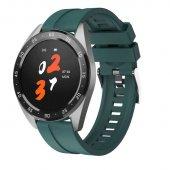 Olix X10 Smart Watch Akıllı Saat Yuvarlak Kadranlı Yeşil
