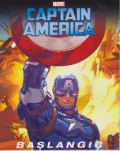 Marvel Captain America Başlangıç Orta Boy