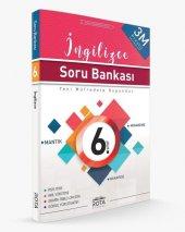 Rota 6. Sınıf İngilizce Soru Bankası 3m Prestij Yeni