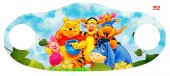 Winnie The Pooh Dijital Baskılı Çocuk Maskesi...