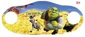 Shrek Dijital Baskılı Çocuk Maskesi Dmk...