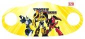Transformers Dijital Baskılı Çocuk Maskesi Dmk...