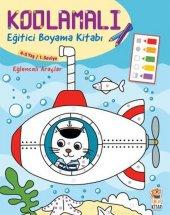 Kodlamalı Eğitici Boyama Kitabı Eğlenceli Araçlar