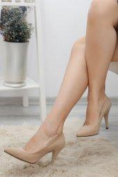 9cm Topuklu Ayakkabı Süetbej 3906.264.