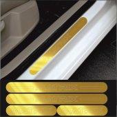 Hyundai Matrix Gold Aynalı Pleksi Kapı Eşiği (4lü Set)