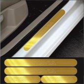 Skoda Octavıa Gold Aynalı Pleksi Kapı Eşiği (4lü Set)