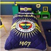 Taç Lisanslı Fenerbahçe Güneşi Yorgan Seti