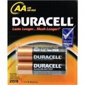 Duracell 2 Li Aa Pil
