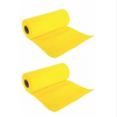 Direm Plastik Perforeli Sarı Rulo Temizlik Bezi 2 Li