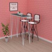 Znsz bar yemek masası zel gribyz 105*100*040 mutfak