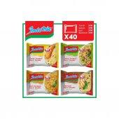 Indomie 40lı Noodle Paket Karma Koli