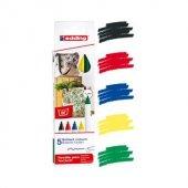 Edding 4600 Kumaş Boyama Kalemi 5 Li Kutu Temel Renkler