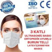 Msd Telli Cerrahi Maske 3 Katlı 50 Adet