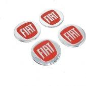 Fiat Alüminyum Jant Göbeği Yapıştırma 55mm (4 Adet)