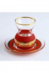 Paşabahçe Dekoratif Çay Seti