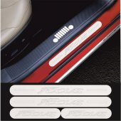 Ford Focus Krom Aynalı Pleksi Kapı Eşiği (4 Lü Set)