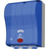 Palex 3491 1 Prestij Otomatik Havlu Dispenseri 21 Cm Şeffaf Mavi