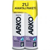 Arko Men Sensıtıve Tıraş Jeli 2 X 200ml