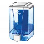 Palex 3430 2 Sıvı Sabun Dispenseri 1000 Cc Krom Şeffaf