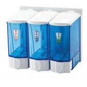 Palex 3566 1 Mini Sıvı Sabun Dispenseri 250 Ccx3 Beyaz