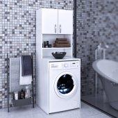Deep Banyo Dolabı Çamaşır Makinesi Dolabı