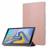 Samsung Galaxy Tab A 8.0 (2019) T290 Kılıf Olix Smart Cover Standlı 1 1 Kılıf Rose Gold