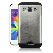Samsung Core Prime G360 Metal Arka Kapak Motomo Gri