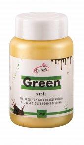 Dr Gusto Yeşil Yağ Bazlı Toz Gıda Boyası 25 Gr (14 Farklı Renk Seçeneği)