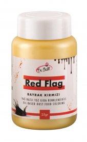 Dr Gusto Bayrak Kırmızı Yağ Bazlı Toz Gıda Boyası 25 Gr (14 Farklı Renk Seçeneği)