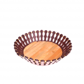 Nerox Kahverengi Küçük Boy Ekmek Sepeti Nrx 323