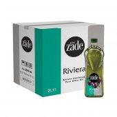 ZADE Riviera Zeytinyağı 2 Litre Pet Şişe Koli 9lu Set - 9x2 Litre