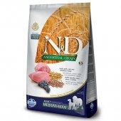 N&D Düşük Tahıllı Kuzu Etli Yaban Mersinli Yetişkin Köpek Maması 12 Kg Skt: 10.2021