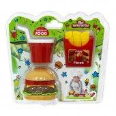 Tableware Mini Hamburger Seti