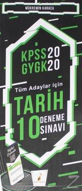 KPSS 2020 GYGK   Tüm Adaylar İçin Tarih 10 Deneme