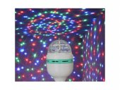 Renkli Disko Ampulü Lambası Tasarruflu Led...