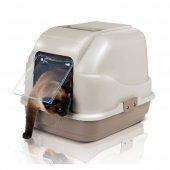 ımac My Cat Kapalı Kedi Tuvaleti 50*40*40 Bej...