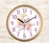 Yavru Ayıcıklar Temalı Dekorarif Çocuk Odası Duvar Saati Hd65
