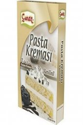 Vanilinli Pasta Kreması 140 Gr 3 Adet...