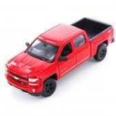 Welly 1 32 Ölçek Chevrolet Sılverado Kırmızı