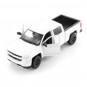Welly 1 32 Ölçek Chevrolet Sılverado Beyaz