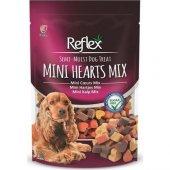 Reflex semi moist mini kalp köpek ödül maması 150 gr