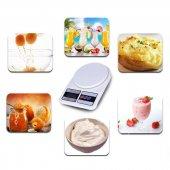 Dijital Hassas 5 Kg Mutfak Terazisi Tartısı Lcd Ekranlı -3