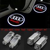 Audi A3 2003-2013 Kapı Altı Led Logo Aydınlatma Ghost Shadow